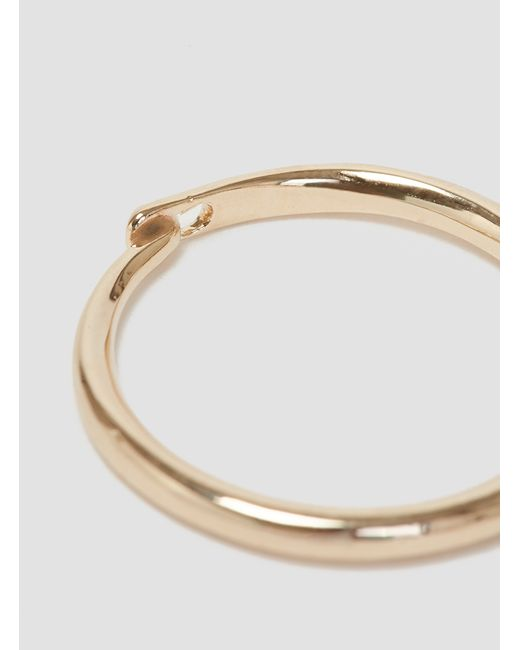 Helena Rohner | Metallic Goldplated Ring Gold Plated | Lyst