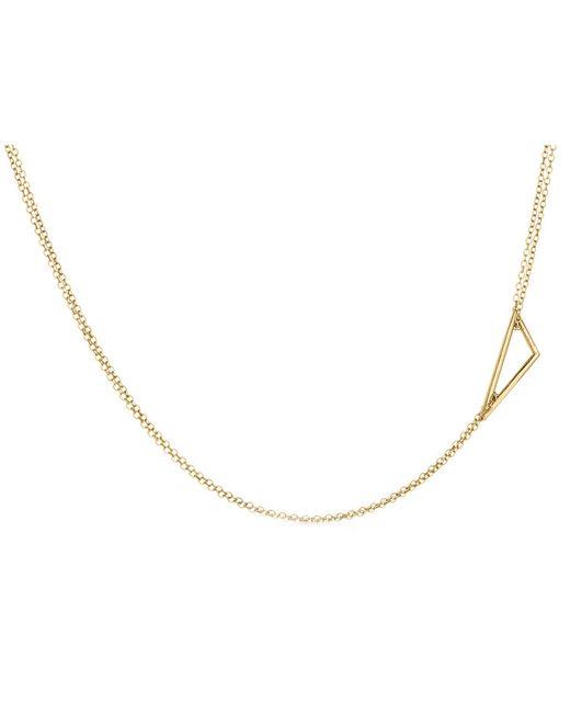 Adina Reyter | Metallic Tiny Right Angle Necklace | Lyst