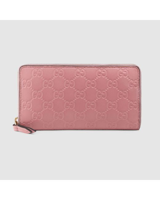 6e87f2ad289b0a Pink Zip Around Wallet Women's | Stanford Center for Opportunity ...