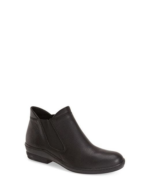 David Tate | Black 'london' Bootie | Lyst