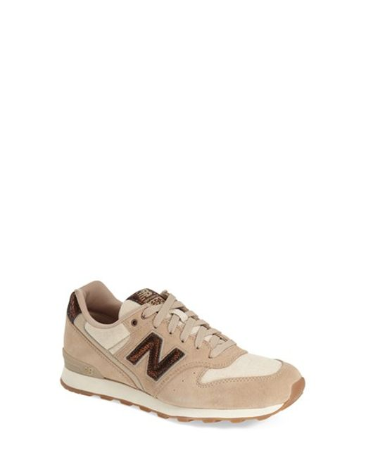 New Balance | Natural '696' Sneaker | Lyst