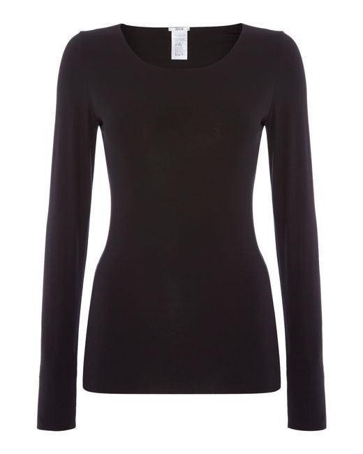 Wolford | Black Pure Pullover | Lyst
