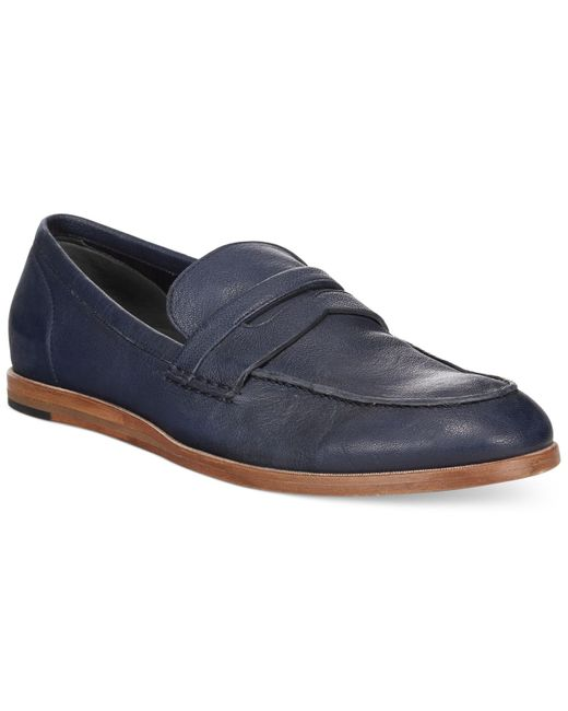 Cole Haan | Blue Bedford Penny Loafers for Men | Lyst