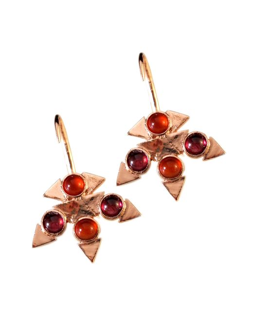 Jill Golden | Pink Reflection Montgomery Earring | Lyst