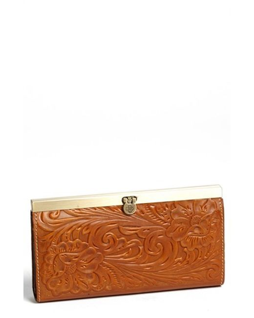 Patricia Nash | Brown 'cauchy' Wallet | Lyst