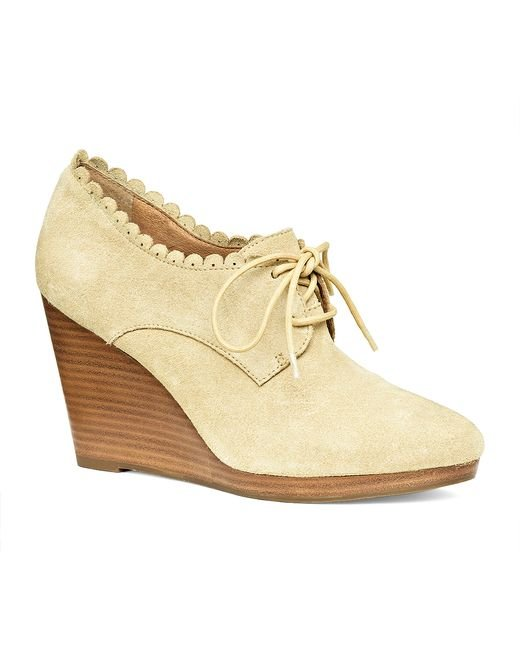 Jack Rogers | Natural Olivia Suede | Lyst