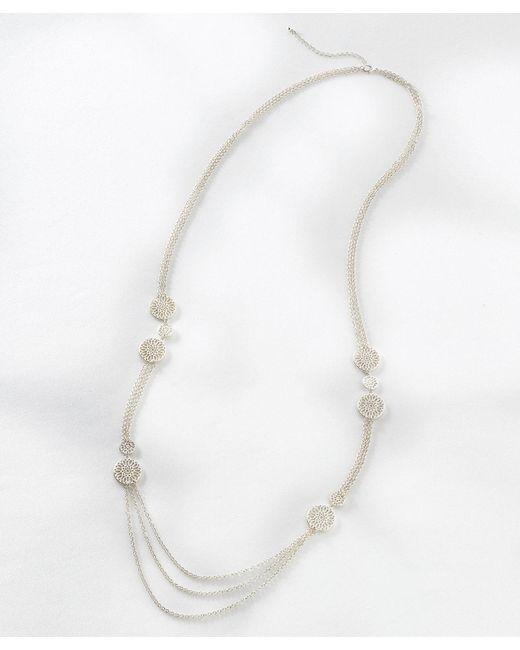DAMART - White Necklace - Lyst
