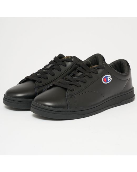 Champion - 919 Low Top 'c' Patch Trainers - Black for Men - Lyst