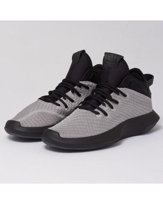 d67d326ee375 Adidas Originals - Black Crazy 1 Adv Primeknit Trainers for Men - Lyst ...