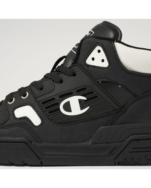 1708fa657 ... Champion - Black 3 On 3 Basketball Sneakers for Men - Lyst ...