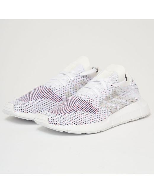 Lyst Adidas Originals Swift Run Pk Ftw White Grey One In White
