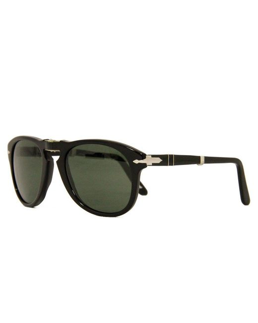 Persol - Multicolor 714 Foldable Black Sunglasses 52 Mm Lens 0Po0714 - Lyst