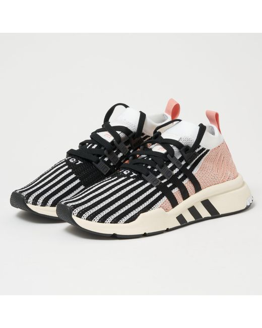 official photos e25ae d447c Adidas Originals - Multicolor Eqt Support Mid Adv Sneakers for Men - Lyst  ...