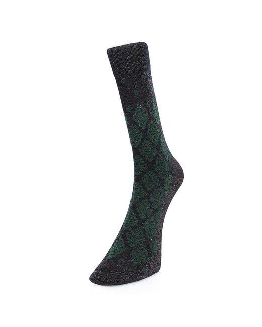 Burlington - Burlington Fashion Autumn Green Socks 20917 6375 for Men - Lyst