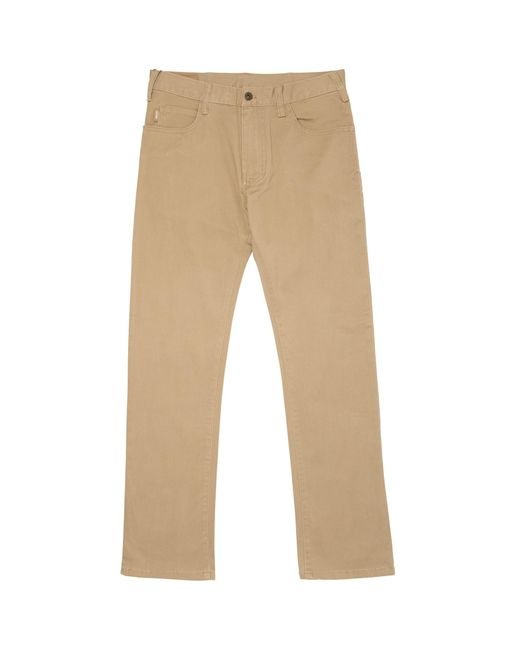 Armani Jeans - Natural J45 Slim Fit Chinos for Men - Lyst