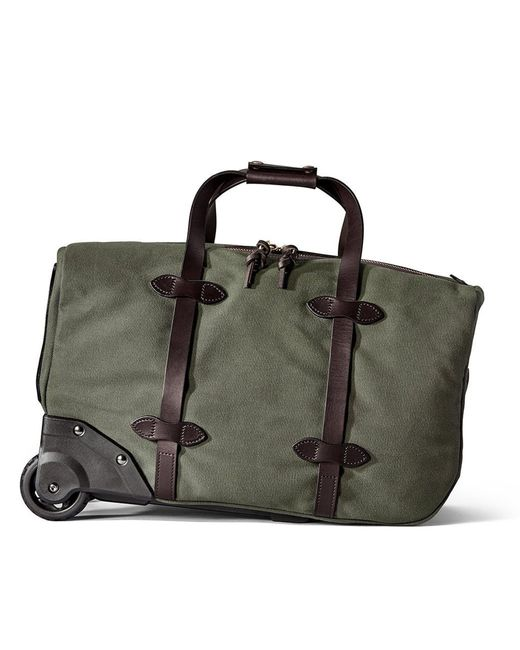 Filson - Black Small Rolling Duffle Bag for Men - Lyst