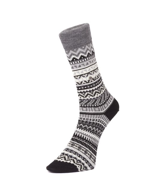 Burlington - Multicolor Fair Isle Socks - Lyst