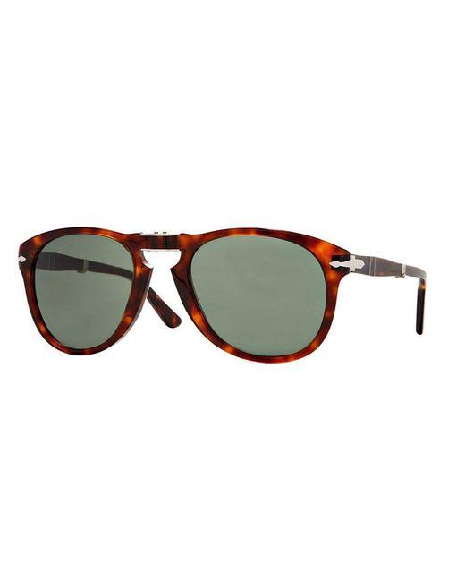 Persol - Multicolor 714 Havana Tortoise Foldable Sunglasses 0Po0714 24/31 for Men - Lyst