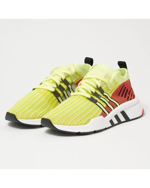 8af04f49d1d7 Adidas Originals - Multicolor Eqt Support Mid Adv Primeknit for Men - Lyst  ...