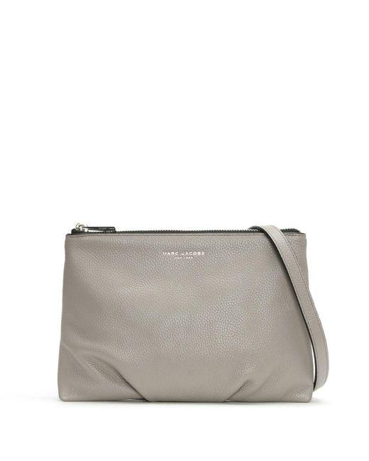 Marc Jacobs | Gray Standard Smoke Grey Leather Cross-Body Bag | Lyst