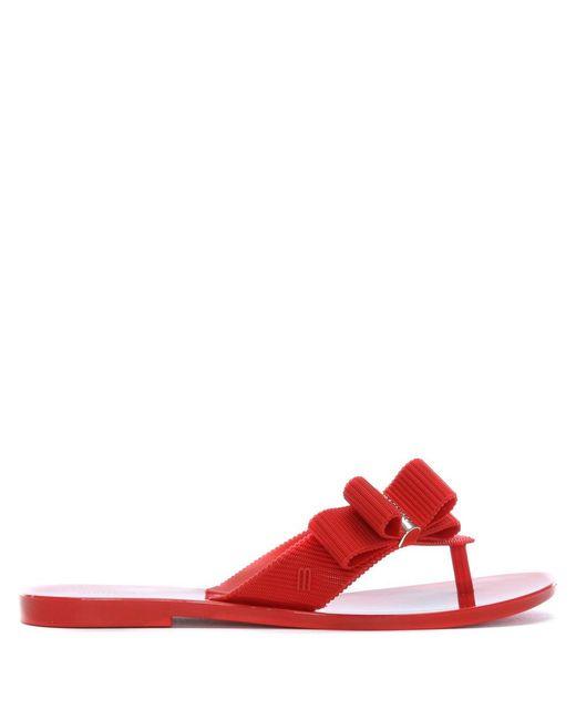 Melissa - X Jason Wu Girl Red Flip Flops - Lyst