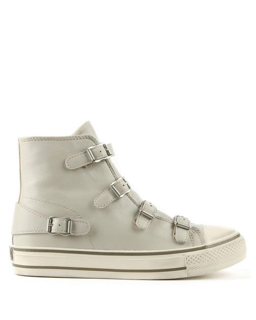 Ash | Multicolor Virgin Bis Pearl Leather High Top Trainer | Lyst