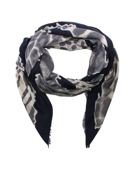 Daniel | Blue Navy Animal Print Scarf | Lyst