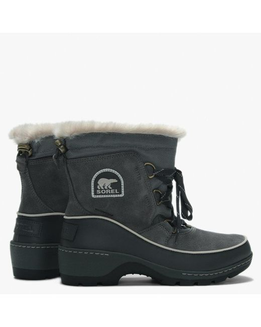 bc3c90ce1 Lyst - Sorel Torino Quarry & Cloud Grey Lace Up Ankle Boots in Gray ...