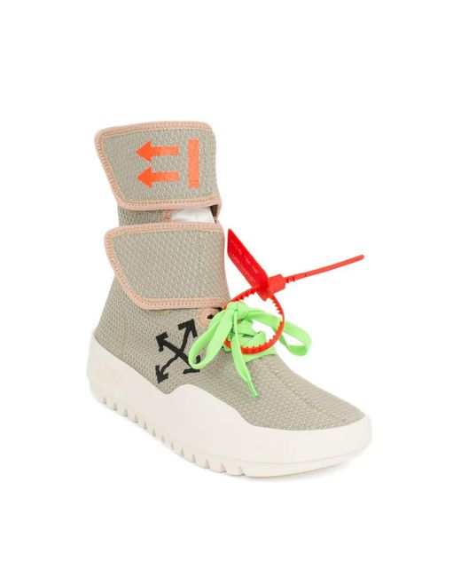 09e467f22f9c ... Off-White c o Virgil Abloh - Multicolor Velcro Sneakers for Men - Lyst  ...