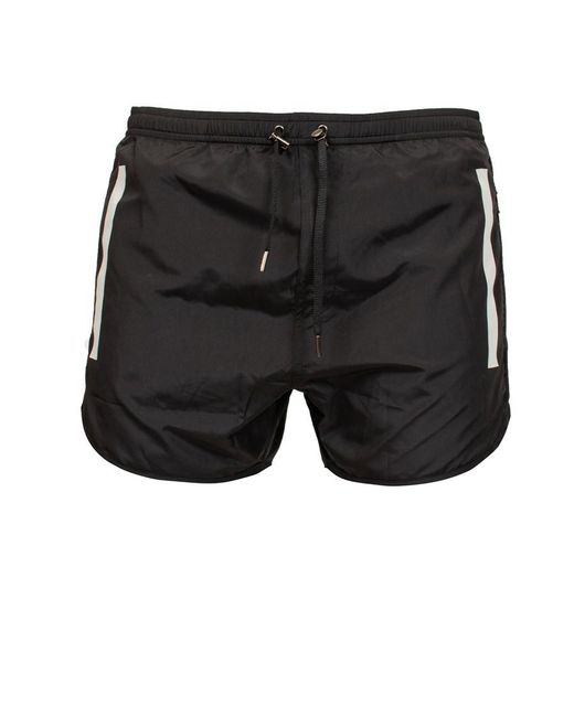 Neil Barrett - Black Swim Shorts for Men - Lyst