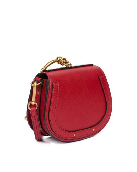 938a544e Chloé Small Nile Bracelet Bag in Red - Lyst