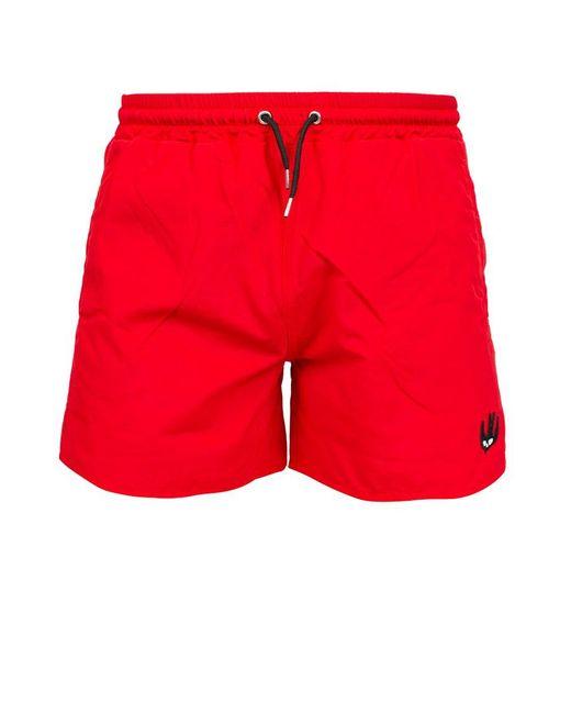 McQ Alexander McQueen - Red Swim Shorts for Men - Lyst