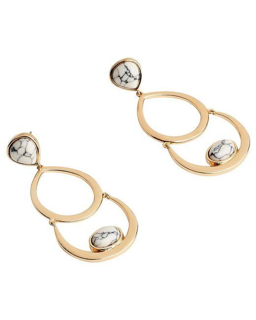 Samantha Wills Metallic Eclipse Hoop Earrings