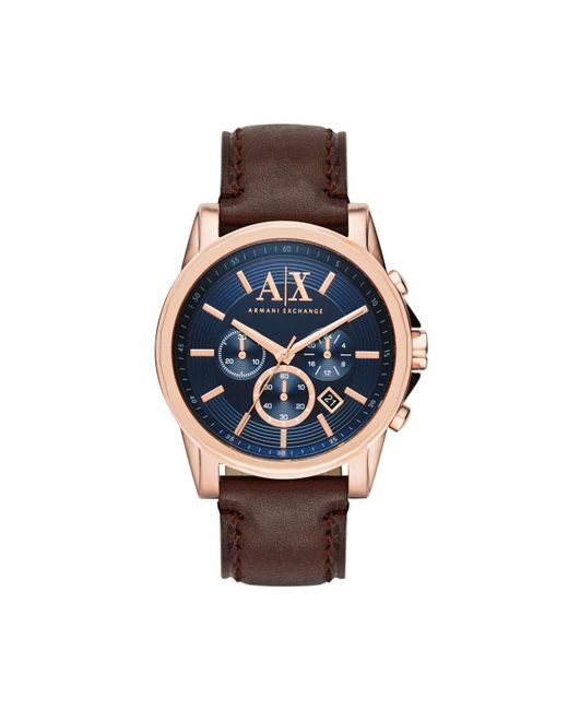 Armani Exchange | Brown Watch - Outerbanks for Men | Lyst