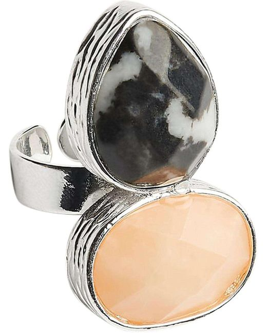 Samantha Wills | Metallic Here Comes The Sun Adjustable Ring | Lyst