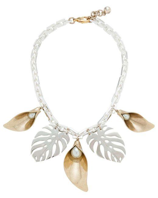 Lulu Frost | Metallic Jardin Necklace Alt | Lyst