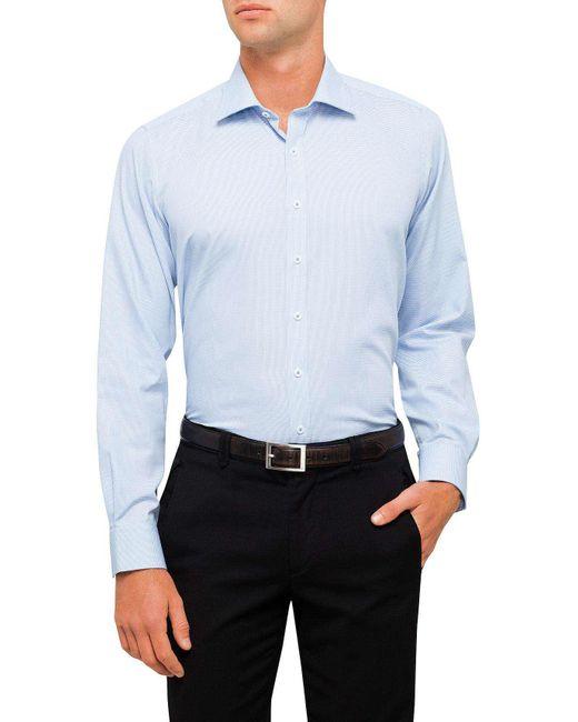 Geoffrey Beene | Blue Jp Jones Dobby Slim Fit Dc Shirt for Men | Lyst