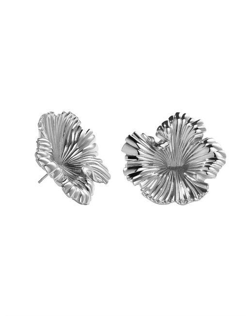 Meadowlark - Metallic Coral Earrings Large - Lyst