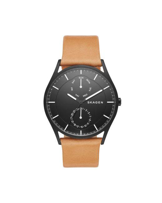 Skagen | Brown Watch Holst | Lyst