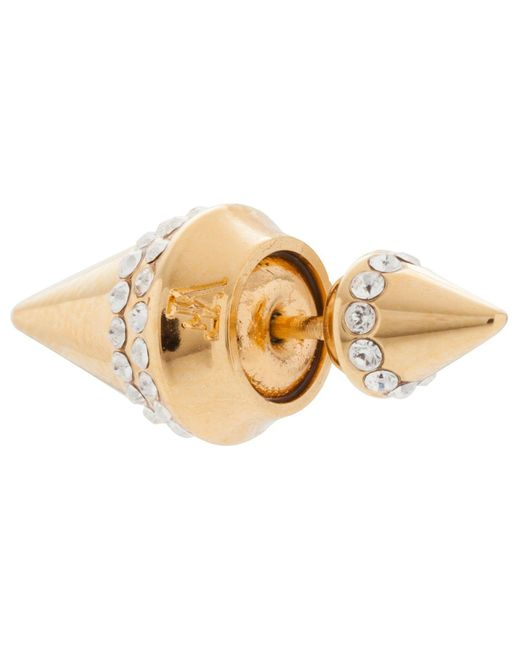 Vita Fede   Metallic Mini Titan Crystal Earring   Lyst