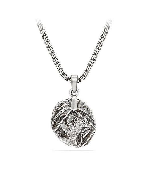 David Yurman | Metallic Shipwreck Coin Amulet, 23mm | Lyst
