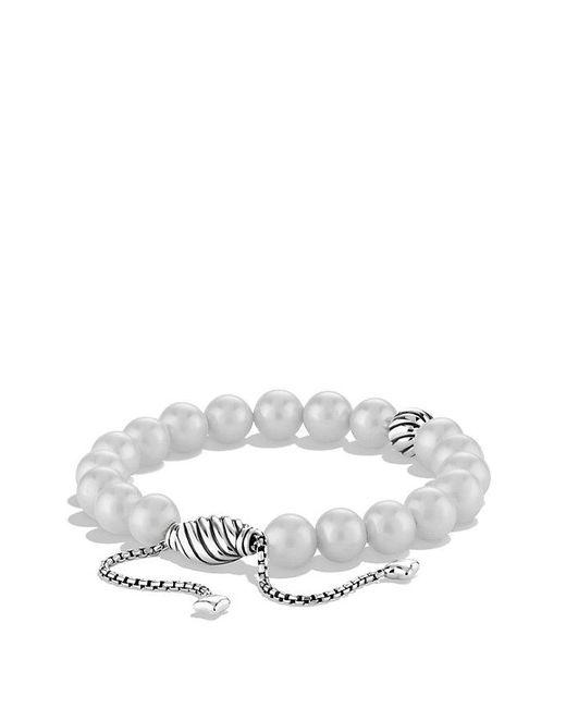 David Yurman | White Spiritual Beads Bracelet With Pearls | Lyst