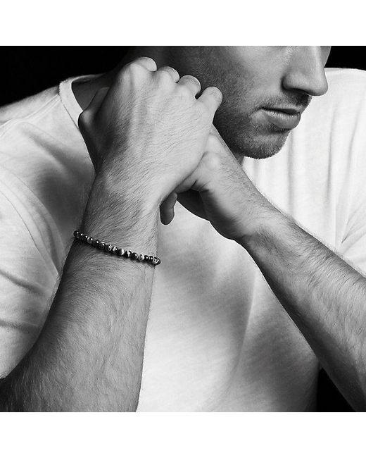 David Yurman - Metallic Spiritual Beads Bracelet With Tiger's Eye, 6mm for Men - Lyst