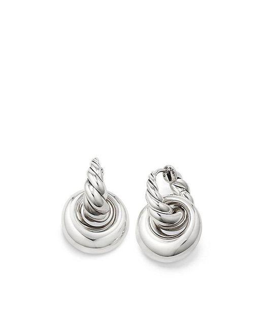 David Yurman - Metallic Pure Form® Drop Earrings, 24mm - Lyst