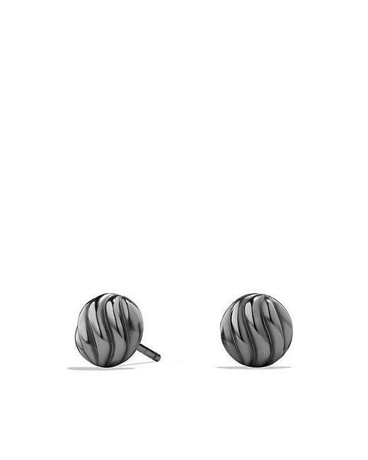 David Yurman - Multicolor Sculpted Cable Earrings - Lyst