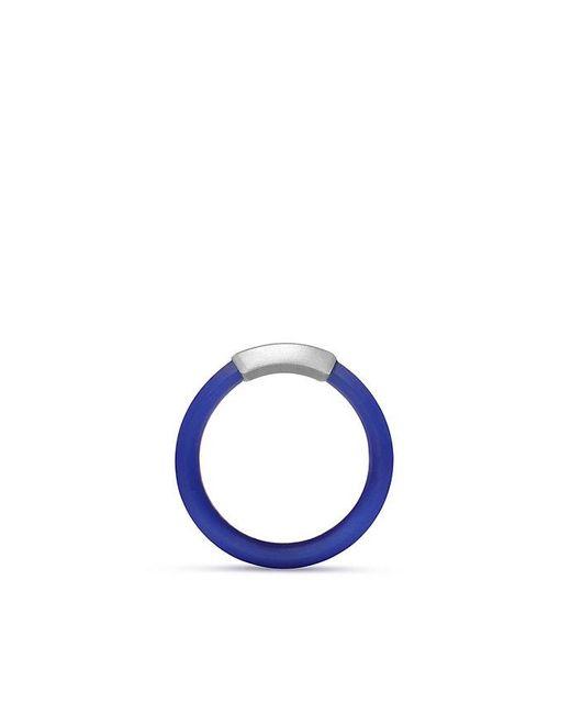 David Yurman - Hex Band Ring In Blue, 7mm for Men - Lyst