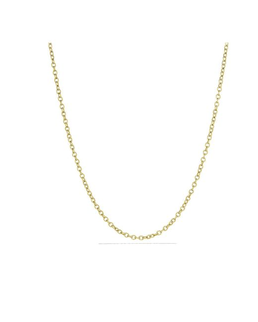 David Yurman - Metallic Small Cable Rolo Chain Necklace In 18k Gold - Lyst