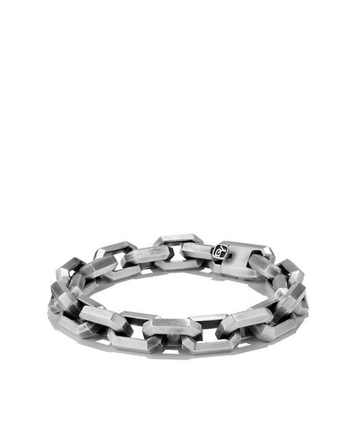 David Yurman | Black Heirloom Streamline Link Bracelet for Men | Lyst