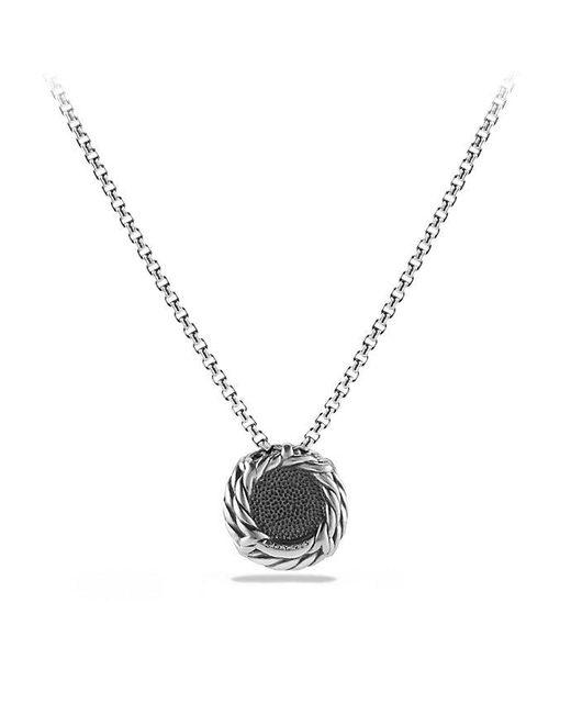 David Yurman   Châtelaine® Pendant Necklace With Black Onyx   Lyst