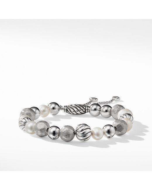 David Yurman - Multicolor Dy Elements Bracelet With Pearls - Lyst